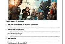 Movie worksheets (primary)