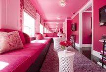 Pink Interior Design Ideas / Konceptliving Pink Room Interior Designs and Decorations