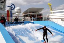 FlowRider / FLowRiding machines by Waveloch are the latest ultimate craze in Extreme Sports across the globe! Wake-boarding, Surfing, kite-surfing, Snowboarding and Skateboarding all rolled into 1 for the ultimate adrenalin buzz! Give it a try you won't regret it! / by schooliesthailand.co