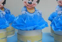 mickey bebe decoracion