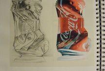 FOOD & DRINK ART GCSE