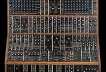 Synthesizer. Instruments. Sound.