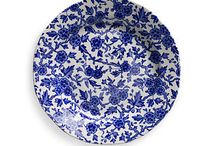 Blue and White China / Whether old or new,  blue and white china is stunning!