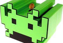 Space Invaders / Para los amantes nostálgicos del videojuego de marcianitos más popular de los años 80.