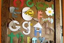 WALL DISPLAY - Alphabet / by Clutter-Free Classroom