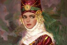 Türk kadını başlıklar