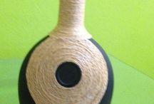 Kreatív projektek boros üveggel