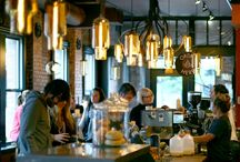 Seattle Coffee Shops / Coffee shops bring people together and are a must fixture in any thriving neighborhood.