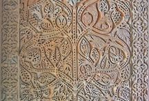 ATAURIQUE - attawríq / Ornamentación árabe de tipo vegetal.