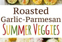 Easy vegetable sides for kids / Vegetable sides for deconstructed meals
