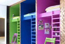 Recámara niños / Ideas para las recamaras de los pequeños