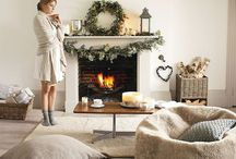 Winter Home Decor Tips / Winter home ideas and decor tips to cosy up your house