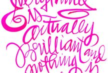 fontastic / typography | fonts | hand lettering | layouts / by Melissa Galvin