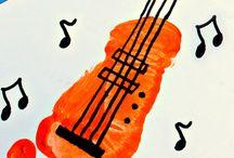 Muziek instrumenten  (knutsels)