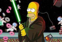 seriály (hlavně Simpsonovi)