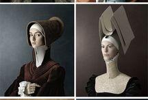 rennaisance portraits / rennaisance portraits by Christian Tagliavini_ Artemesia