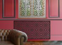 Laser cut radiator covers