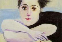 Picasso(1.2) / Carlos Casagemas,Dora Maar, Fernanade, Eva, Syvette, Laporte, early  muses