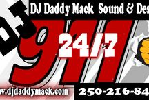 DJ 911 Emergency DJ service / if you ever get short a DJ entertainer for wedding, birthday, anniversary events just text DJ 911 @ 250-216-8401  or djdaddymack@shaw.ca