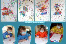 Bricolages pour le carnaval par les p'tits loulous de Gaëla / Bricolages et activités des enfants/assistante maternelle