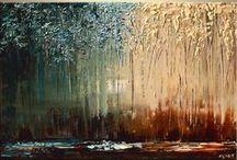 modern yağlı boya resimler