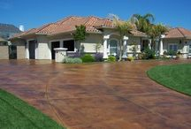 concret staining