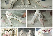 Hochzeit - Kleid, Schuhe, Accessoires