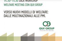 Eventi QUI! Group / Tutti gli eventi ai quali partecipa il Gruppo, con il proprio know how di azienda leader in ambito welfare aziendale e sociale, sistemi di pagamento e sviluppo circuiti di loyalty