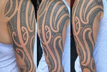 Brad Cone / Brad Cone, full time moko artist and south pacific specialist, working with script and cholo lettering styles and working from Christchurch New Zealand!