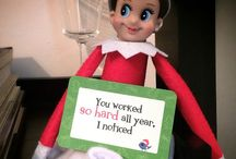 Lunchbox Love and Elf on a Shelf / Creative ways of delivering Lunchbox Love with the Elf on a Shelf