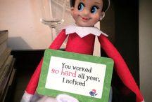 Lunchbox Love and Elf on a Shelf / Creative ways of delivering Lunchbox Love with the Elf on a Shelf