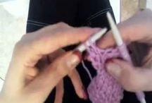 tutorial per lavorare a maglia