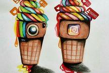 Social Media Drawings