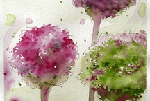 watercolors / by Dee Bignall