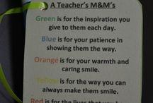 teacher/aides celebration ideas