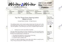 Essential Things for Authors to Know / How to