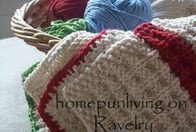 Knitting / Dish cloth