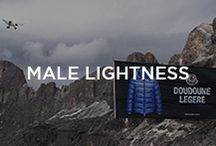 Male Lightness / An option for every occasion: at work or in your free time, you can't make without the comfort of these jackets! Because lightness is the most important thing / by Moncler