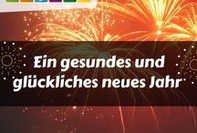 Neujahrsgrüße / Wunderschöne Neujahrgrüße und Sprüche zu Silvester, jetzt einfach online teilen.