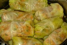 Stuffed Cabbage - Golabki (Recipes & Inspiration) / Stuffed cabbage, or a cabbage roll, is a dish consisting of cooked cabbage leaves wrapped around a variety of fillings. Our mouths are watering, are yours?