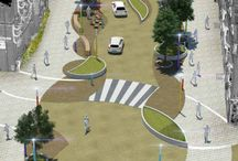 Shared space streets
