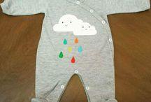 Unissex Baby / Roupinhas sem gênero definido!  As cores são de todas as crianças :)