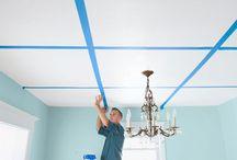 Cofferd ceiling