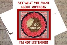Funny Cards For Buckeye Fans / Unique and amusing cards for lovers of THE Ohio State University!