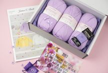 Monthly Baby Boxes / A look at our monthly baby knitting boxes.