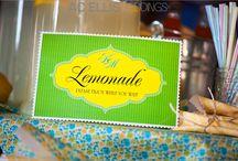 lemonade stand / by Aundrea Clark