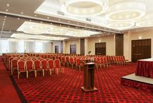 Meeting and Banqueting Facilities / 738 Sq. M. of flexible event & meeting space  Our hotel is known for hosting perfectly arranged and managed events. Get connected and productive or celebrate ın more than 578 square meters of modern event and banquet floor featuring 6 first class meeting rooms and spacious pre-function area.