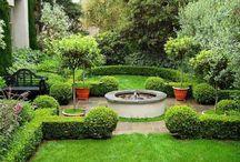 Камины и садовые очаги / Идеи оформления  в саду