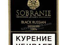 Sobranie cigarettes / Sobranie is a British luxury brand of top-class cigarettes