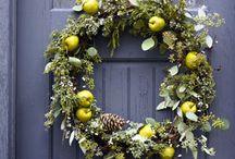 Christmas door bling